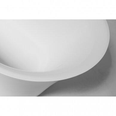 Akmens masės vonia Balteco Fiore 157, 180 cm 4