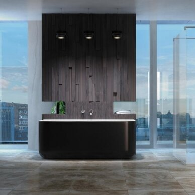 Akmens masės vonia Balteco Gamma 160 cm