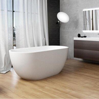 Akmens masės vonia Balteco Halo 169 cm