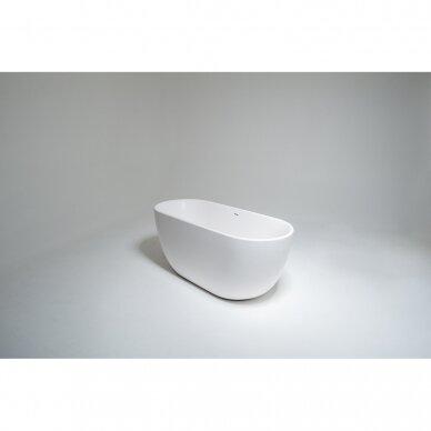 Akmens masės vonia Balteco Halo 169 cm 2