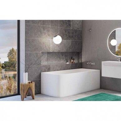 Akmens masės vonia Balteco Leon 180 x 80 cm 3