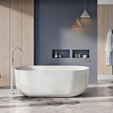 Akmens masės vonia Balteco Marin 179 x 84 cm
