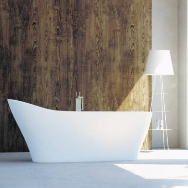 Akmens masės vonia Balteco Mezo 182 cm 2