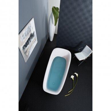 Akmens masės vonia Balteco Mezo 182 cm 3