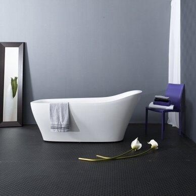 Akmens masės vonia Balteco Mezo 182 cm 6