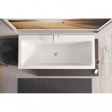 Akmens masės vonia Balteco Plano 70, 75 cm 3