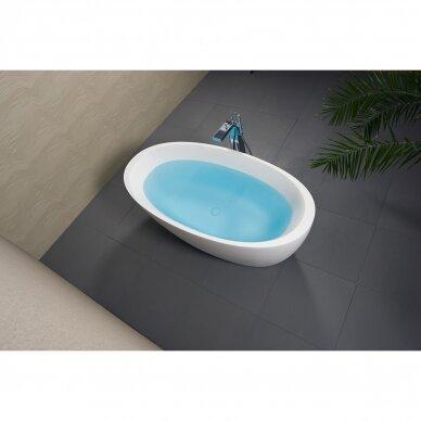 Akmens masės vonia Balteco Senzo 179 cm 2