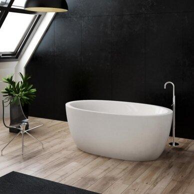 Akmens masės vonia Balteco Senzo 179 cm
