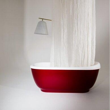 Akmens masės vonia Balteco Vero 167 cm