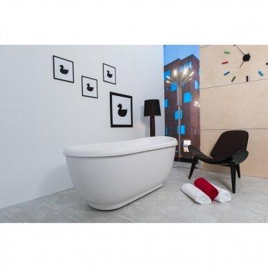 Akmens masės vonia Balteco Vero 167 cm 3