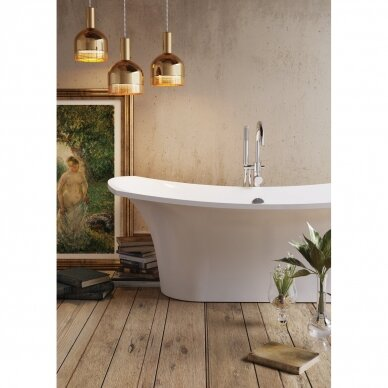 Akmens masės vonia PAA Bel Canto 180 cm