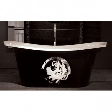 Akmens masės vonia PAA Bel Canto 180 cm 5