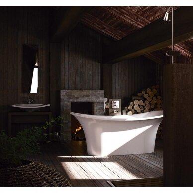 Akmens masės vonia PAA Bel Canto 180 cm 3