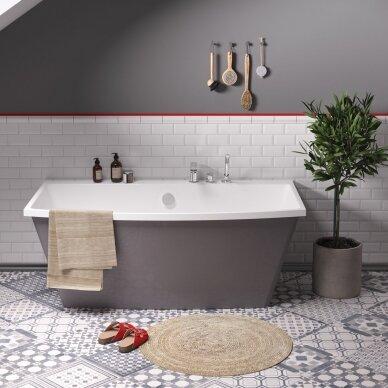 Akmens masės vonia PAA Step 170 cm 2