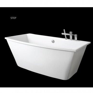 Akmens masės vonia PAA Step 170 cm 3