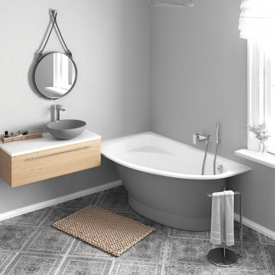 Akmens masės vonia PAA Tre Grande 170 cm 2