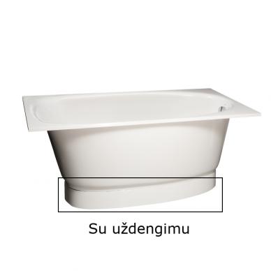 Akmens masės vonia PAA Uno 150 cm
