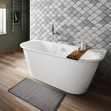 Akmens masės vonia PAA Vario XL 175-185 cm