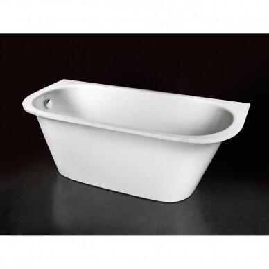 Akmens masės vonia PAA Vario L 160-170x75 cm 5