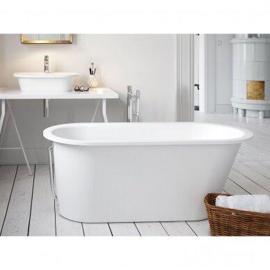 Akmens masės vonia PAA Vario Long 160-170x75 cm 6