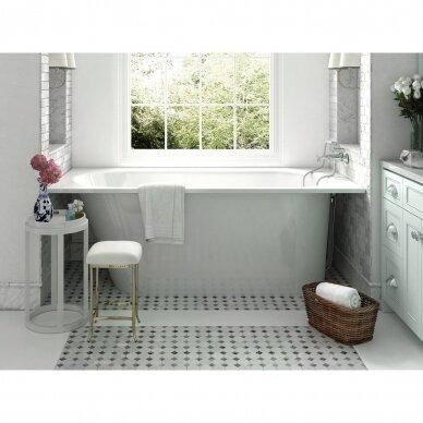 Akmens masės vonia PAA Vario L 160-170x75 cm