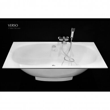 Akmens masės vonia PAA Verso 170 cm 3