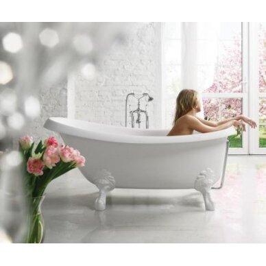 Akmens masės vonia PAA Victoria 170x83 cm 2