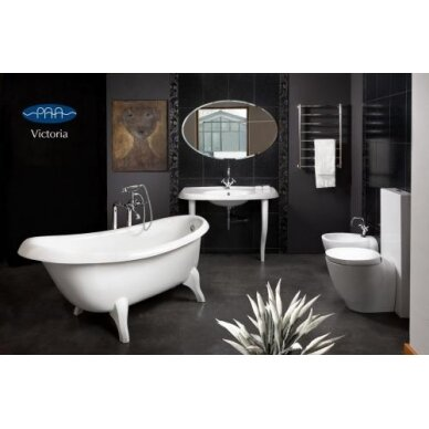 Akmens masės vonia PAA Victoria 170x83 cm 3