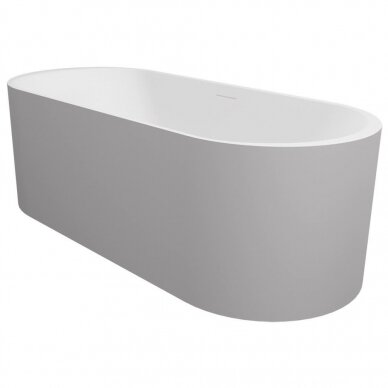 Akmens masės vonia Riho Essence 170 cm 2