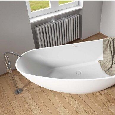 Akmens masės vonia Riho Granada 170 cm 3