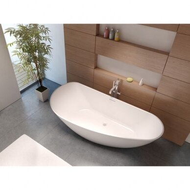 Akmens masės vonia Riho Granada 170 cm 2