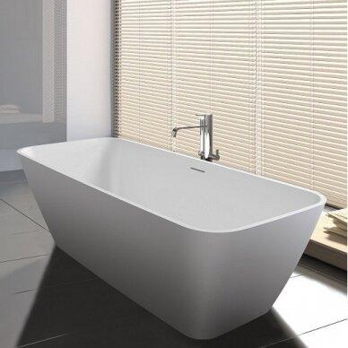 Akmens masės vonia Riho Malaga 160 cm 3