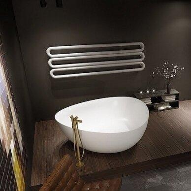 Akmens masės vonia Riho Oviedo 160 cm