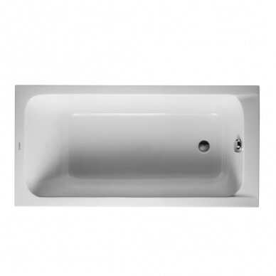 Akrilinė vonia Duravit D-Code 150, 160, 170 cm 4