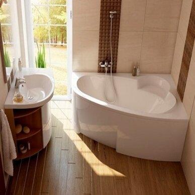 Akrilinė vonia Ravak Asymmetric 150, 160, 170 cm
