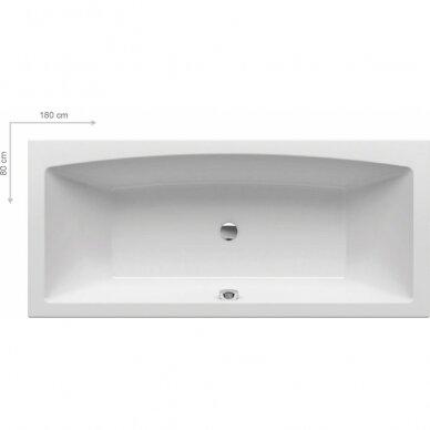 Akrilinė vonia Ravak Formy 02 - 180 cm