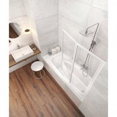 Akrilinė vonia Ravak Vanda II 150, 160, 170 cm 2