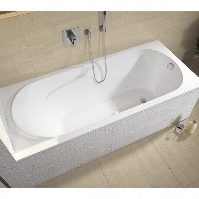 Akrilinė vonia Riho Future 170, 180 cm su kojelėmis