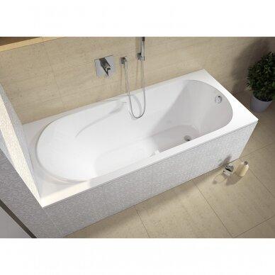 Akrilinė vonia Riho Future 170, 180 cm su kojelėmis 2