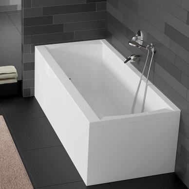 Akrilinė vonia Riho Julia 160, 170, 180, 190 cm su kojomis