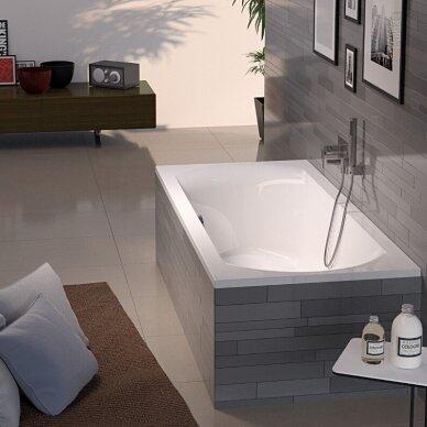 Akrilinė vonia Riho Lima 160, 170, 180 cm su kojelėmis