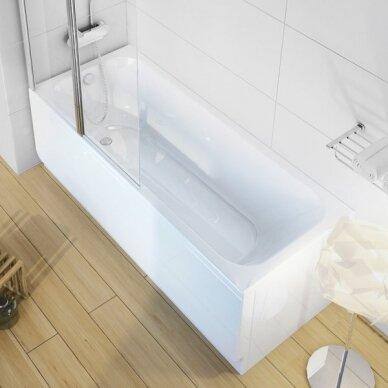 Akrilo vonia Ravak Chrome arba Chrome slim 150, 160, 170 cm