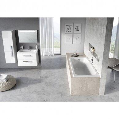 Akrilo vonia Ravak Chrome arba Chrome slim 150, 160, 170 cm 11