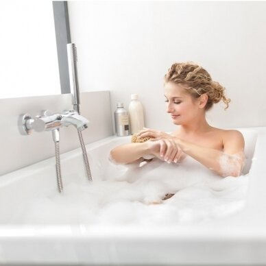 Akrilo vonia Ravak Chrome arba Chrome slim 150, 160, 170 cm 5