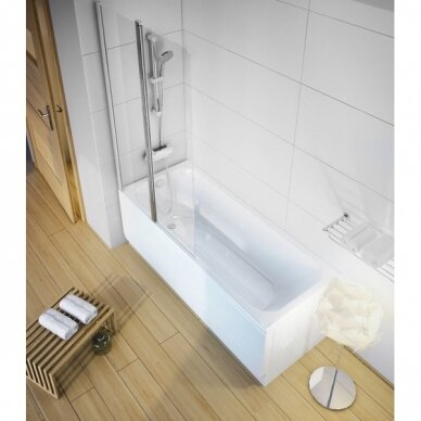 Akrilo vonia Ravak Chrome arba Chrome slim 150, 160, 170 cm 9