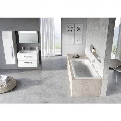 Akrilo vonia Ravak Chrome arba Chrome slim 150, 160, 170 cm 15