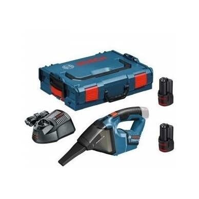 Akumuliatorinis dulkių siurblys Bosch GAS 12V, 2x3.0Ah 2