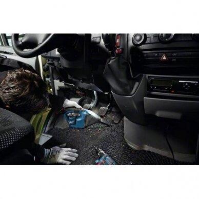 Akumuliatorinis dulkių siurblys Bosch GAS 12V, 2x3.0Ah 5