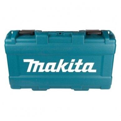 Akumuliatorinis kampinis šlifuoklis Makita DGA506Z, 18V + lagaminas 4