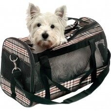 Angliško stiliaus kelionis krepšys Flamingo Pet Products Karlie